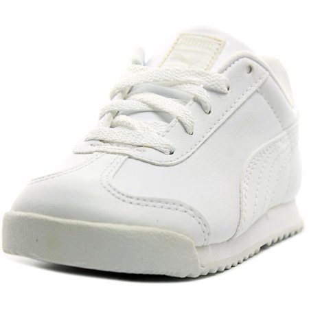 Puma Roma Basic Kids Toddler  Round Toe Synthetic White Sneakers (Puma Roma Basic Kids)