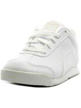 Product Image Puma Roma Basic Kids Toddler Round Toe Synthetic White  Sneakers 70ec9d610