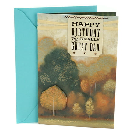 Autumn Card (Hallmark Birthday Greeting Card to Father (Autumn)