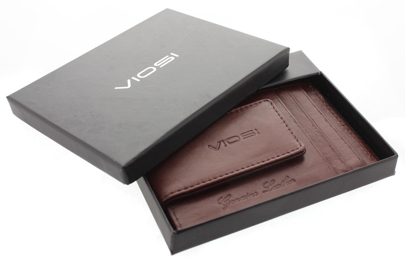 Viosi rfid mens leather magnetic front pocket money clip wallet viosi rfid mens leather magnetic front pocket money clip wallet walmart 1betcityfo Images