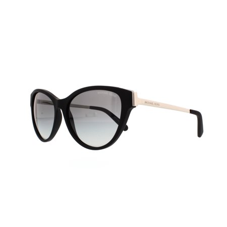 7e87b166fe3e Michael Kors - Michael Kors Women's Gradient Punte Arenas MK6014-302211-57 Black  Butterfly Sunglasses - Walmart.com