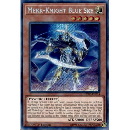 YuGiOh Extreme Force Mekk-Knight Blue Sky EXFO-EN014 Yu Gi Oh Mirror Force