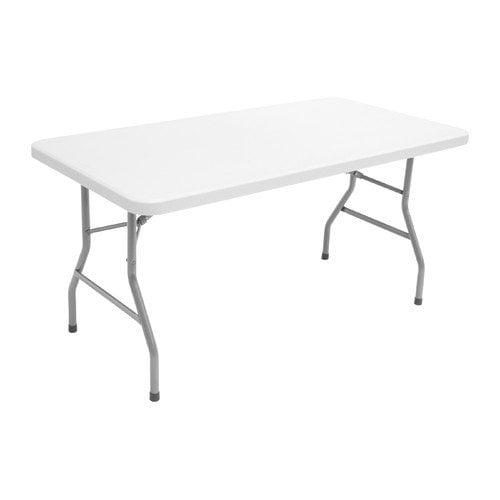 Regency Plastic Rectangular Folding Table