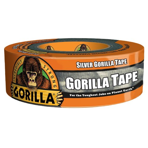 Gorilla Tape, 35yds, Silver
