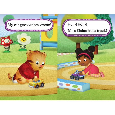 Daniel Learns to Share (Part of Daniel Tiger's Neighborhood) Adapted Adapted by: Becky Friedman - image 1 de 4
