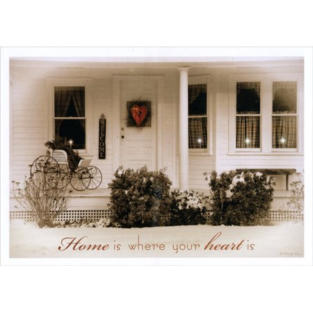 LPG Greetings Home is Where Your Heart Is: Box of 16 Robin-Lee Vieira Christmas Cards ()