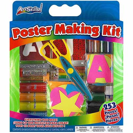 Artskills Poster Making Kit, 253pc