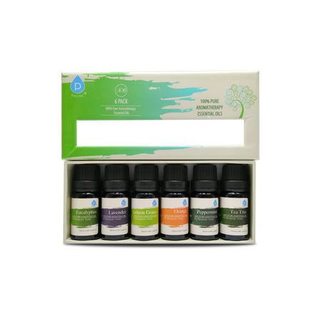 Pursonic Pure Essential Aroma Oils  6 Pack