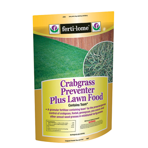 Ferti-Lome Crab Grass Preventer & Lawn Fertilizer Food 20 Lb Bag 10907