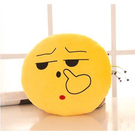 Emoji Mini Expression Plush - Picking Nose Face - Walmart.com