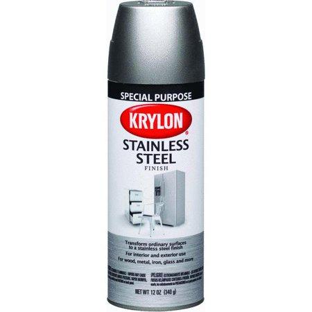Upc 724504024002 krylon 11oz stainless steel spray paint for Can you spray paint stainless steel