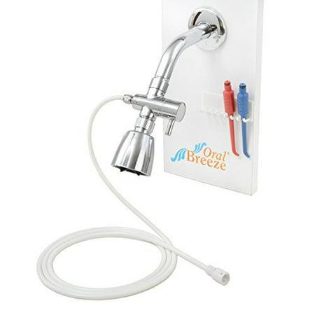 showerbreeze water jet dental irrigator w lifetime warranty flosser. Black Bedroom Furniture Sets. Home Design Ideas