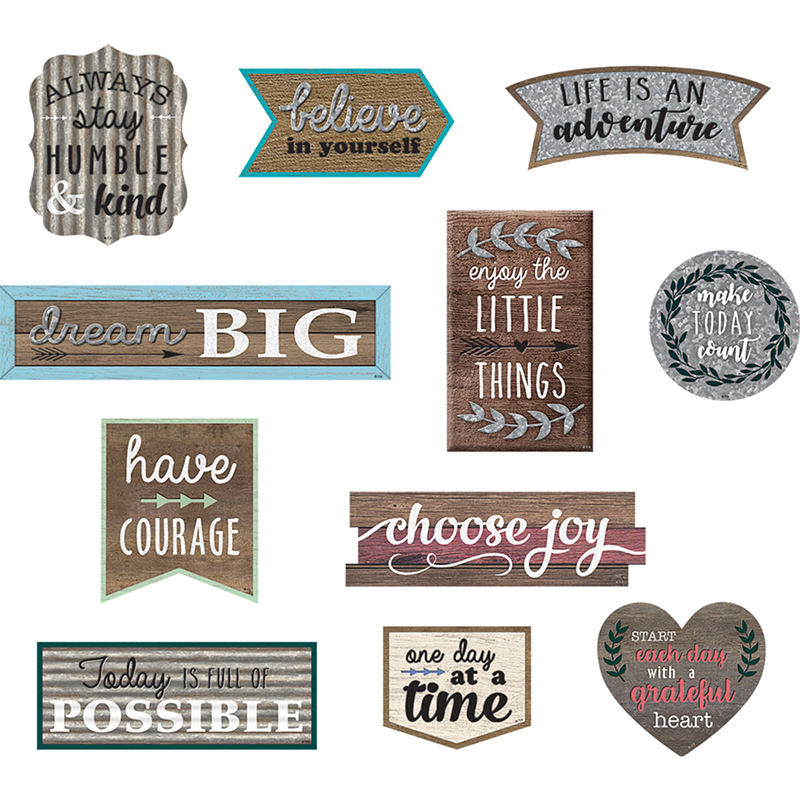 Positive Sayings Accents - image 1 de 1