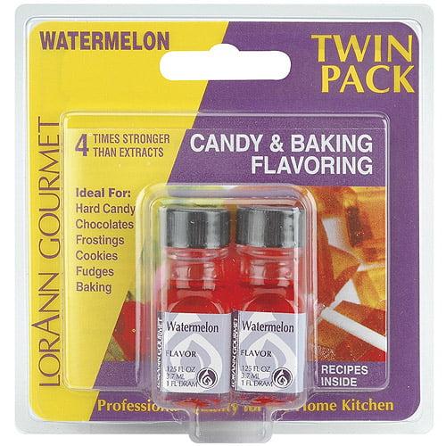Candy and Baking Flavoring, 0.125oz Bottle, 2/Pkg