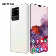 Newest Upgraded S30U Smartphones 6.7Inch Water Drop Screen 2 + 16Gb Mobile Phones Real Fingerprint Face Unlock Phones White