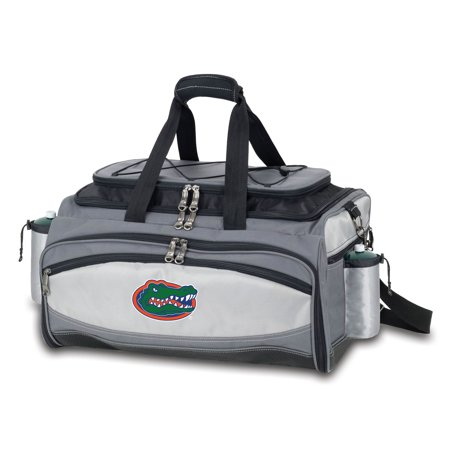 Florida Gators Vulcan Portable Propane Grill & Cooler Tote Bring your love for your team to your next cookout, tailgate or dinner party with this Florida Gators Vulcan Portable Propane Grill & Cooler Tote. Everyone who comes around will know that you're a die-hard Florida Gators fan. The crisp graphics on this sweet accessory will make it a must-have in your Florida Gators collection.