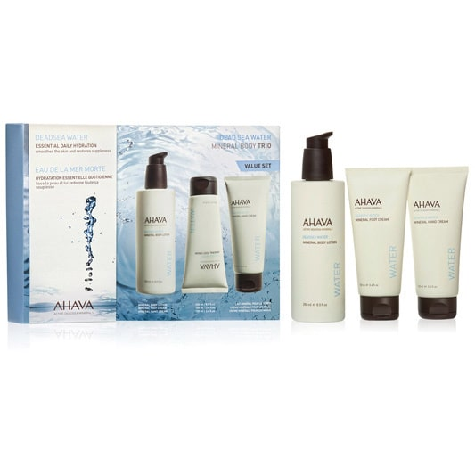Ahava  Deadsea Water Mineral Body Trio 3-piece Set