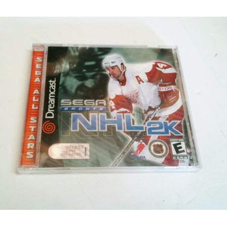 NHL 2K Hockey Sega Dreamcast