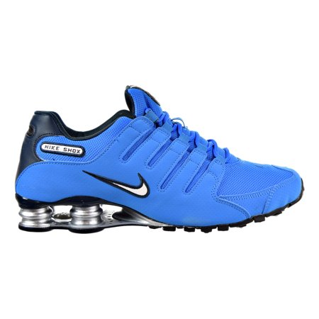 ... Nike Shox NZ Mens Shoes Photo BlueWhiteArmory Navy 378341-403 . ... 69bb22959