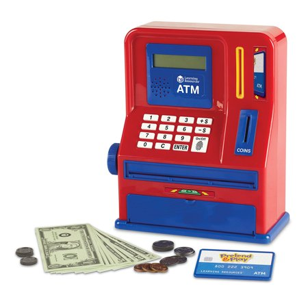 Learning Resources Teaching ATM Bank, Blue & Red, Classic Toy, 32 Pieces, Ages 3+](Halloween Teaching Resources)