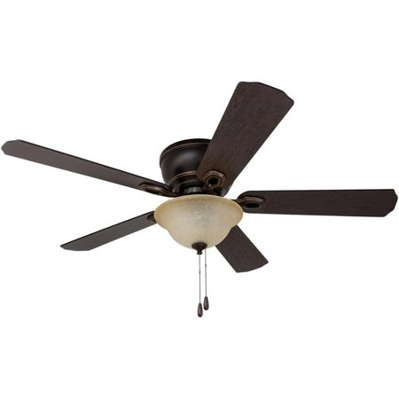 "HKC-US 52"" Prominence Home Coors Creek Hugger Ceiling Fan with Remote Control, Oil-Rubbed Bronze"