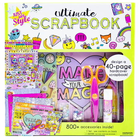 Style Scrapbooking - Horizon Group Just My Style Scrapbook Kit, 1 Each