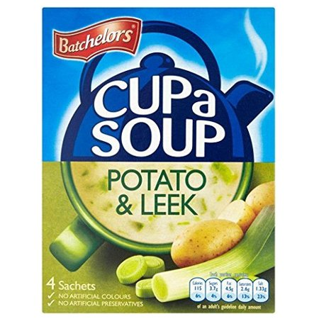 Batchelors Cup a Soup Creamy Leek & Potato (4 per pack - 107g) - Pack of