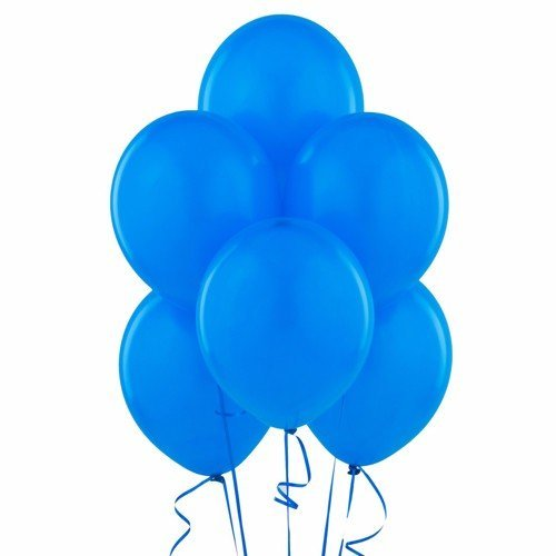 "Wideskall® 9"" Multi Colors Helium Latex Balloon for Birthday Party Wedding Balloons, White - Pack of 20"