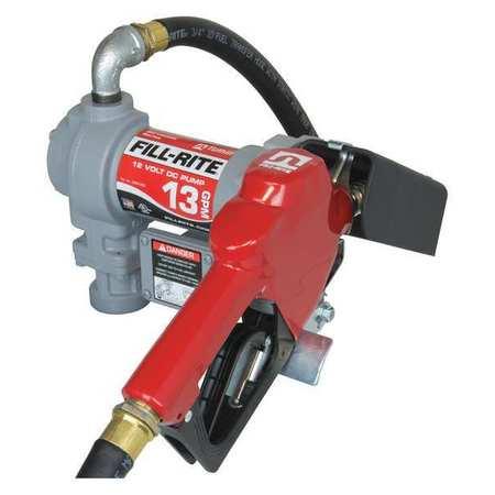 FILL-RITE SD1202G Fuel Transfer Pump, 1/4 hp, 13 gpm