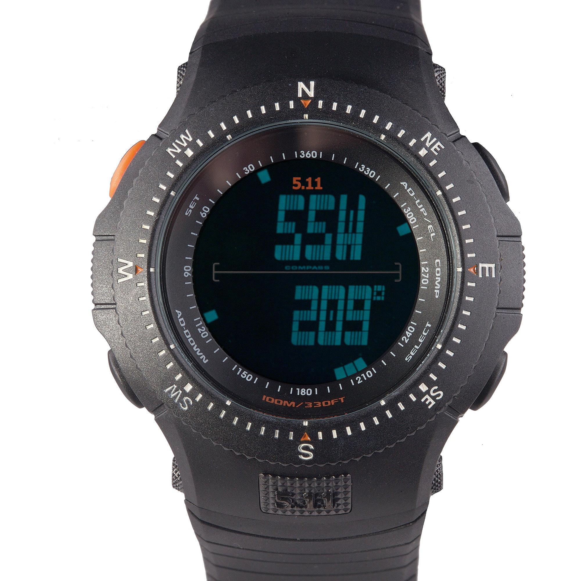 5.11 INC Field Ops Watch Black