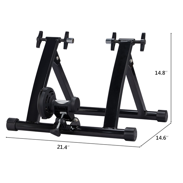 Exercise Bike Bicycle Trainer Stand 7 Levels w// Resistance Stationary Portable