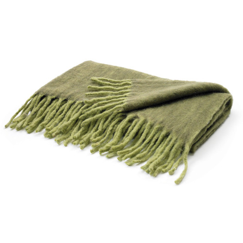 Hip Vintage Hunter Wool Throw Blanket