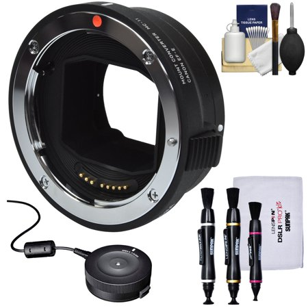 Canon Camera Dock (Sigma MC-11 Mount Converter (Canon EOS EF to Sony Alpha E-Mount) with USB Dock + Cleaning Kit)