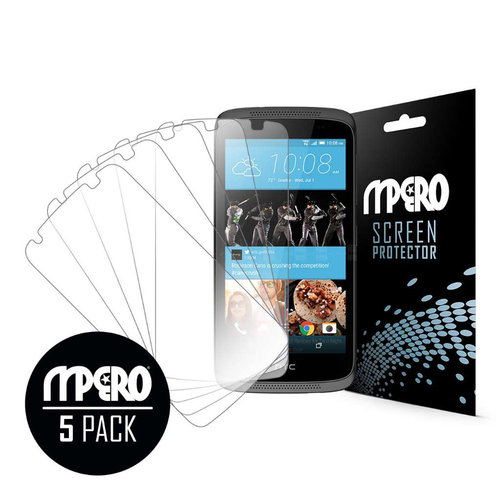 HTC Desire 526, Screen Protectors, 5-Pack, Clear