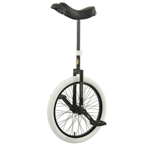 Nimbus Nimbus II 20 Inch Unicycle - Black, Steel Frame, 20 inches