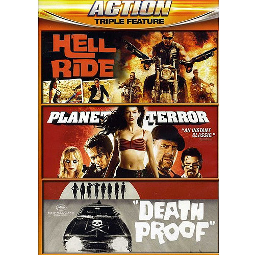 Hell Ride / Planet Terror / Death Proof (Widescreen)