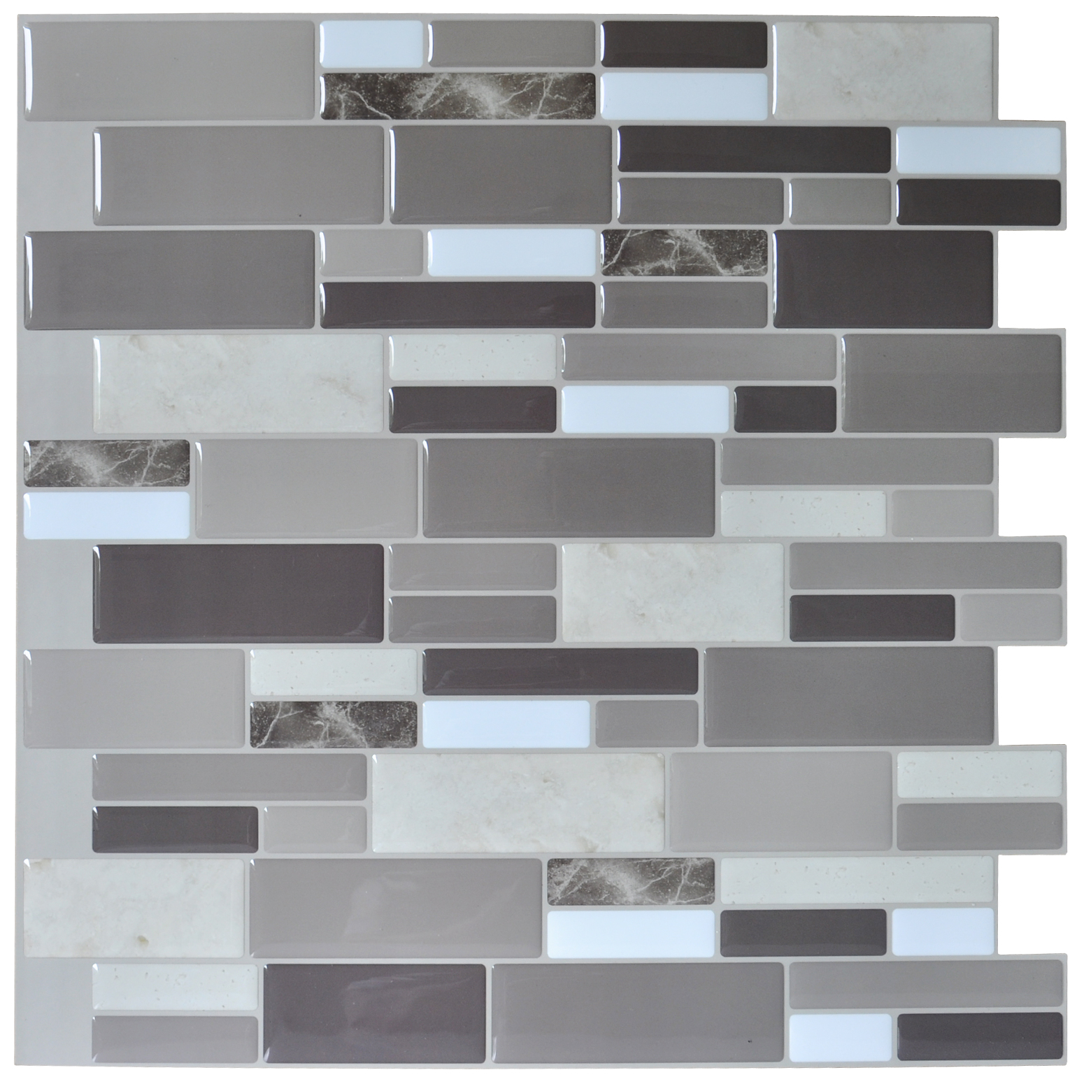 art3d peel & stick brick kitchen backsplash self-adhesive wall