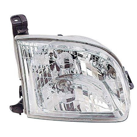 Headlight Eagle Eyes - 00-04 Toyota Tundra Head Lamp Assembly RIGHT HAND / PASSENGER SIDE (Exclude Double