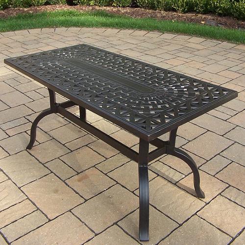 Oakland Living Corporation Buckingham Aluminum 42 x 21-inch Rectangular Coffee Table by Overstock