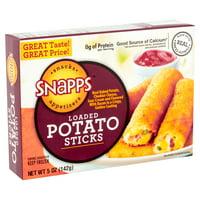 Snapps Loaded Potato Sticks, 5 oz