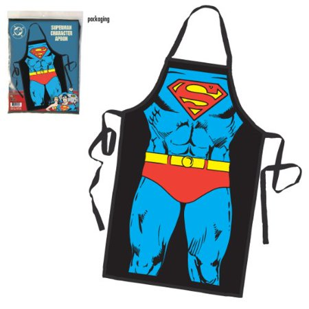Superman Character Costume Apron Multi-Colored (Character Costumes For Sale)