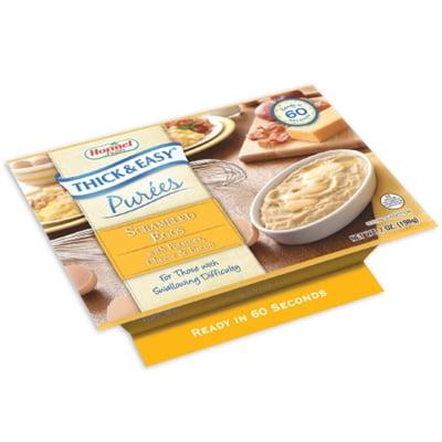 Hormel Thick & Easy Puree, Scrambled Eggs / Potatoes Purees, 7 oz. Bowl, 60740 - Case of (Potato Puree)