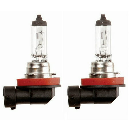 55w Clear Lens - 2x H11 Halogen 55W 12V Low-Beam Car/Auto Headlight/Fog/Driving Light Bulbs Clear