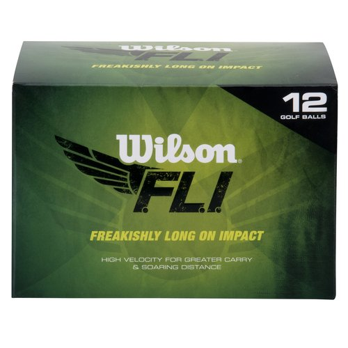 Wilson FLI Golf Ball, 12-Pack by Wilson Sporting Goods