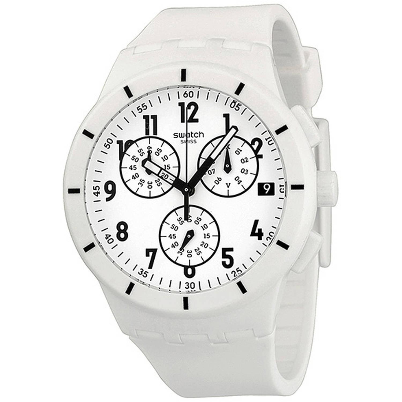 Swatch Twice Again White Unisex Watch SUSW402 by Swatch