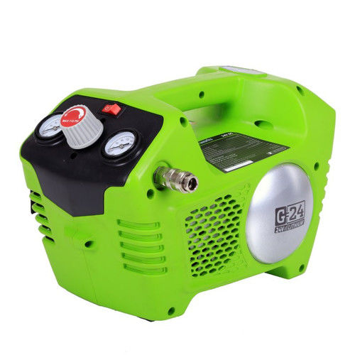 Greenworks 24v Cordless Lithium-Ion 1/2 Gallon Air Compressor, Battery Not Included 4100002