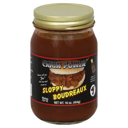 Cajun Power Sloppy Boudreaux Sauce, 16 oz