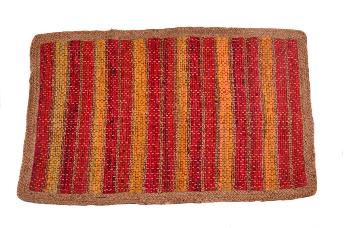 2x4 ft Jute Doormat Natural Fiber HandWoven (25''x 44'') Indoor Outdoor Area Rug Doormat... by Doormats