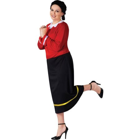 Morris Costumes Womens Tv & Movie Characters Popeye Outfit 16W-20W, Style FW102735 - Popeye Costume