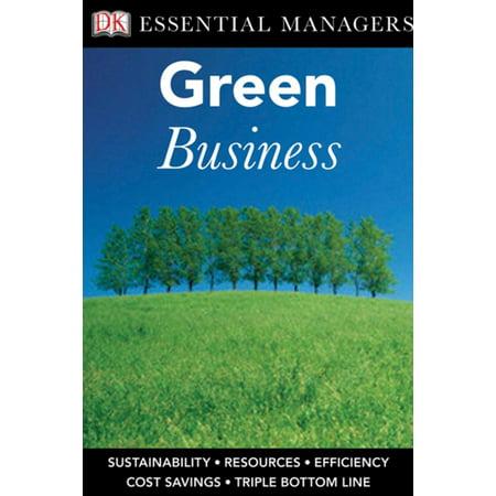 Mens Dk Green - DK Essential Managers: Green Business - eBook